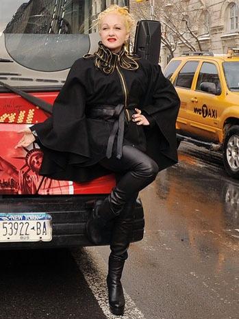 Cyndi Lauper - Gray Line New York's Ride Of Fame Honors Cyndi Lauper - 2011