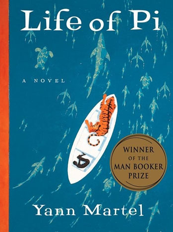 Life of Pi Book Art 2011