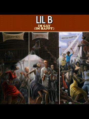 Lil B I'm Gay Album Art 2011