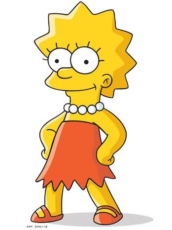 Lisa Simpson - Cartoon Portrait - 2010
