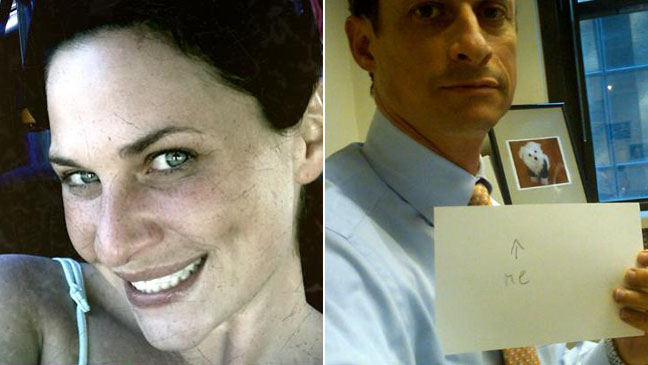 Meagan Broussard Anthony Weiner Split 2011