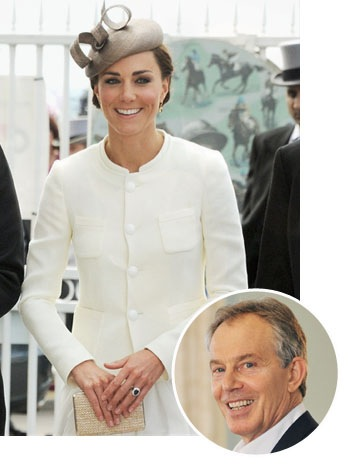 Tony Blair, Kate Middleton - SPLIT