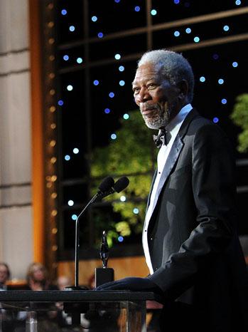 Morgan Freeman Life Achievement Award 2011