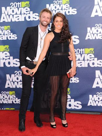MTV Movie Awards - Red Carpet: Nikki Reed, Paul McDonald - 2011