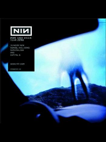 Nine Inch Nails Year Zero Album Art 2011