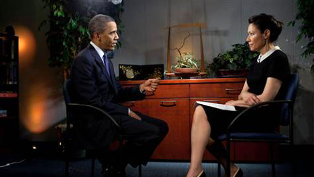 Obama Ann Curry Interview Today 2011