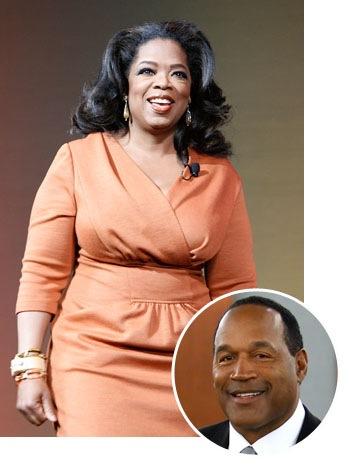 Oprah Winfrey, OJ Simpson - SPLIT