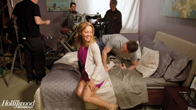 23 FEA PARENTHOOD Christensen and Sam Jaeger on Bed