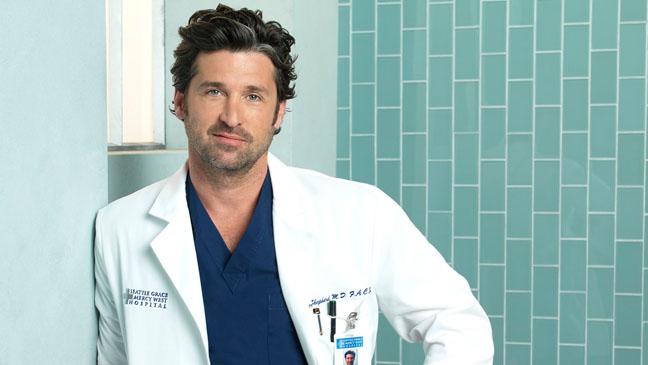 Patrick Dempsey - Grey's Anatomy PR Shot - 2010