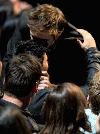 MTV Movie Awards - Show: Robert Pattinson, Taylor Lautner - 2011