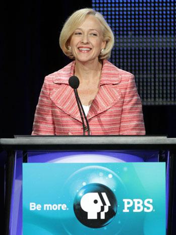 Paula Kerger PBS Podium 2011