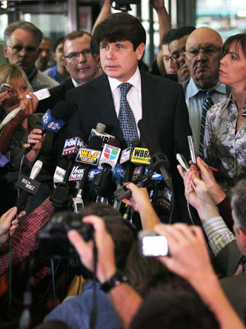 Rod Blagojevich Press Conference 2011