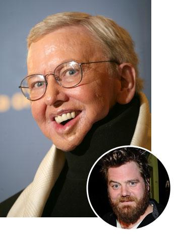 Roger Ebert Ryan Dunn Bubble Split 2011