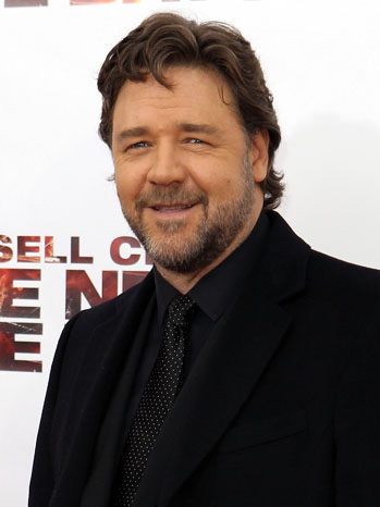 Russell Crowe Next Three Days Premiere 2011