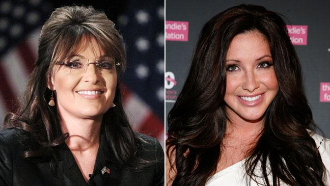 Sarah and Bristol Palin Split 2011