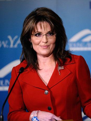 Sarah Palin Red Jacket 2011