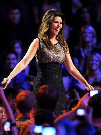 Shania Twain CMT Awards 2011