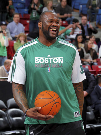 Shaquille O'Neal Warm-Up 2011
