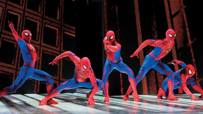 23 REP Spider-Man Turn Off the Dark