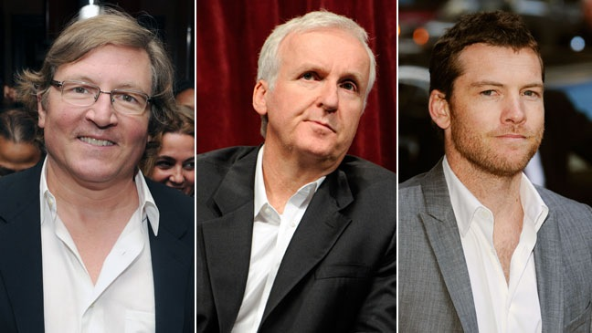 James Cameron, Lorenzo DiBonaventura, Sam Worthington - SPLIT