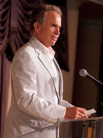 Warren Beatty HFPA Luncheon 2009