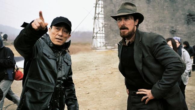 23 REP INTERNATIONAL Zhang Yimou and Christian Bale