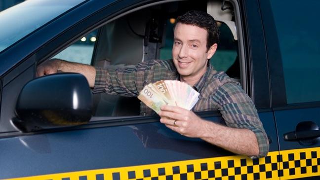 Canadian Cash Cab - TV Still - 2010