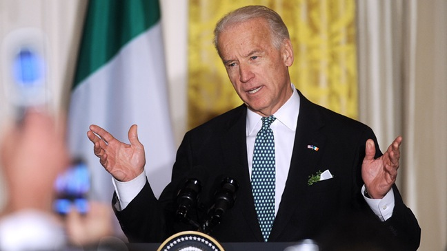 Joe Biden - St. Patrick's Day At The White House - 2011