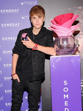 Justin Bieber Fragrance Launch - Macy's NYC - P - 2011