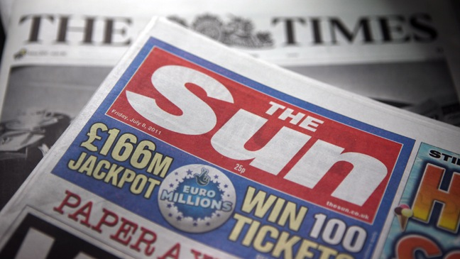 The Sun Newspaper - Generic Image - 2011