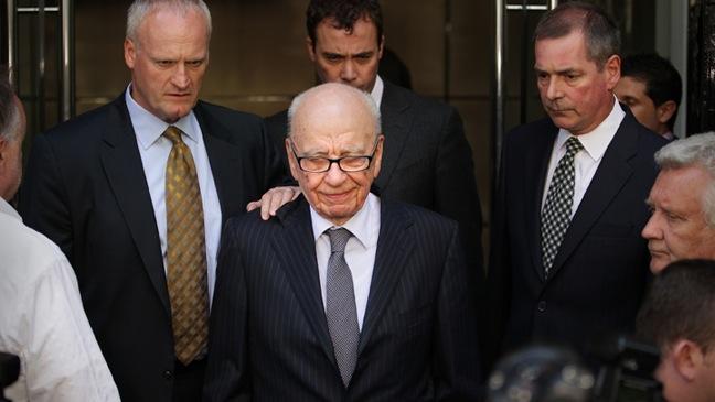 Rupert Murdoch - Rebekah Brooks Resigns As Chief Executive Of News International - H - 2011