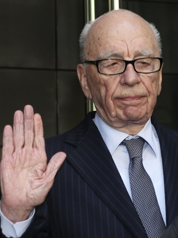Rupert Murdoch - Meets With Dowler - P - 2011