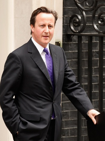 David Cameron - The Prime Minister Leaves Downing Street - 2011