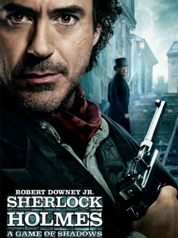 Sherlock Holmes A Game Shadow - Movie Poster - 2011