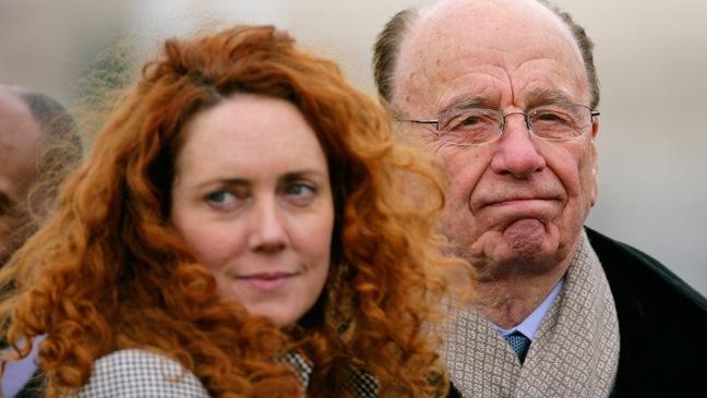 Rebekah Brooks, Rupert Murdoch - Cheltenham Horse Racing Festival - Day 3 - H - 2010