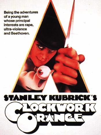 A Clockwork Orange Poster Art - P 2011