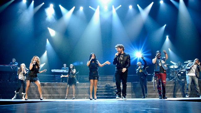 American Idol Tour Group 2011