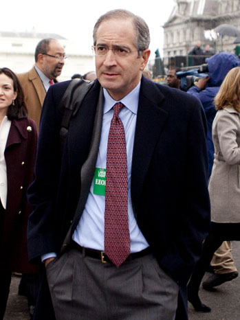 Brian Roberts - leaves white house - P - 2011