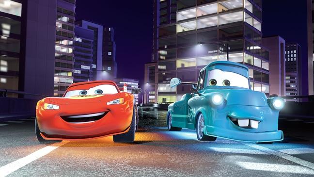 Cars 2 - Movie Still: Lightning McQueen, Mater - H - 2011