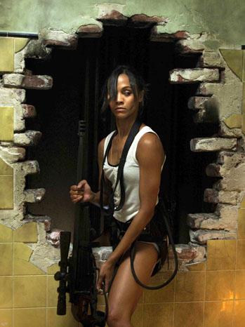 Columbiana Zoe Saldana Film Still - P 2011