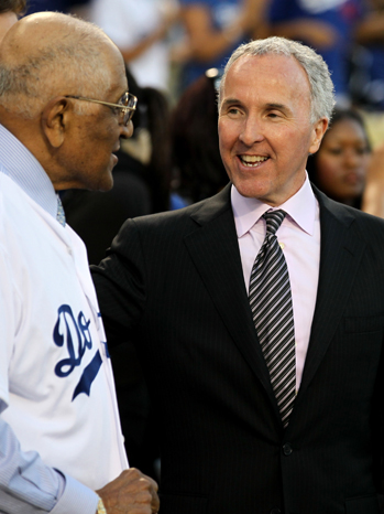 Frank McCourt Dodgers Game - P 2011