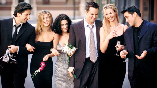 Friends (tv show) - PR Group Portrait - H - 2003