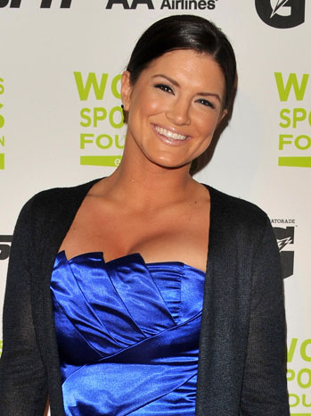 Gina Carano Headshot - P 2011