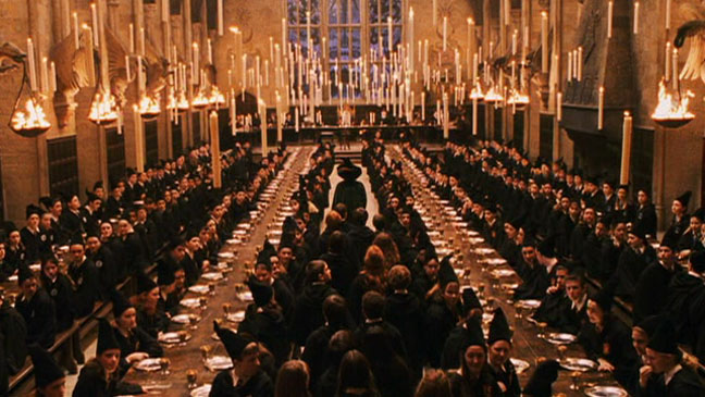 Harry Potter Hogwarts Great Hall 2011