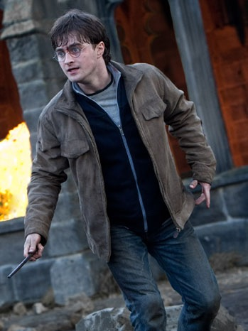 Harry Potter And The Deathly Hallows: Part 2 - Movie Still: Daniel Radcliffe as Harry Potter- 2011
