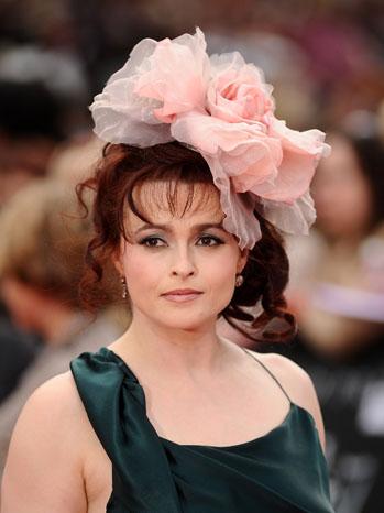 Helena Bonham Carter Harry Potter Deathly Premiere 2011