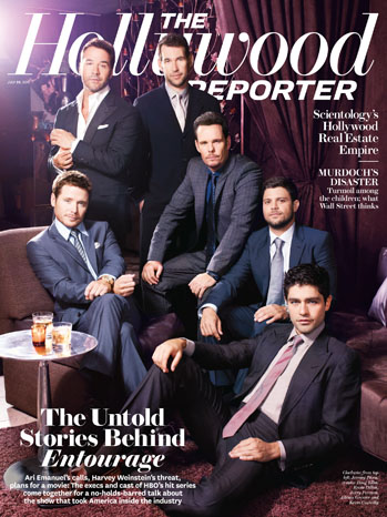 Issue 26 Cover Entourage