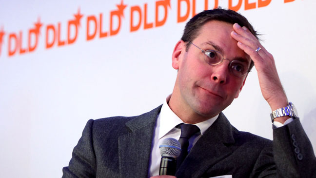 James Murdoch - Speak At The DLD11 Conference - H - 2011