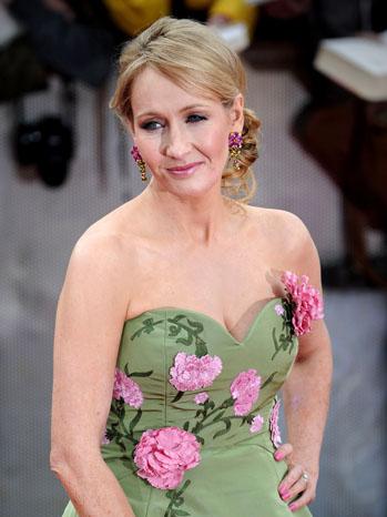 J.K. Rowling Harry Potter Premiere 2011