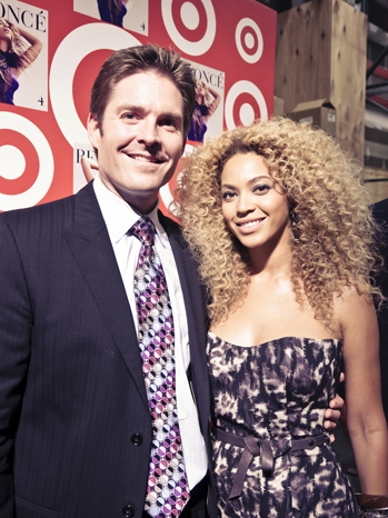 beyonce with john butcher - target release 2011